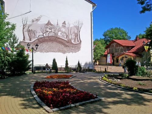 граффити зеленоградск