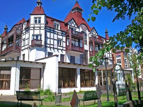 гостиница зеленоградск